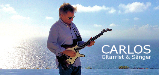 Mallorca Gitarrist Carlos f�r Hochzeit, Party und Event � entertainment-mallorca 2014