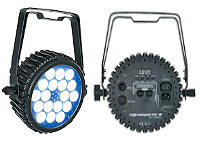 Showtec PAR 18 MKII LED Spots now on rental stock in Mallorca - Majorca