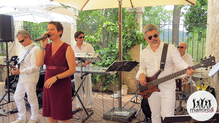 DELUXE PARTYBAND MALLORCA  / YOUR PROFESSIONAL LIVE BAND IN MALLORCA