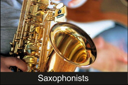 Saxophonists for Wedding, Party and Event in Mallorca.
