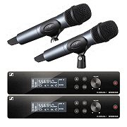 Rental of Sennheiser XSW 2 wireless microphone system with handheld transmitter 835 in Mallorca with best price guarantee